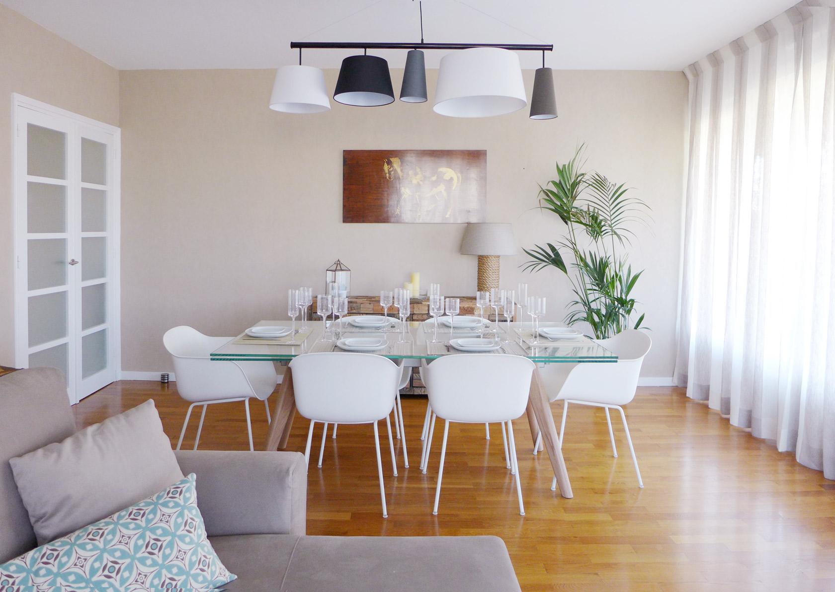 Réalisation Sable blanc. Un appartement qui appelle à la douceur de vivre.